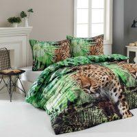 Matějovský Bavlněné povlečení Deluxe Leopard