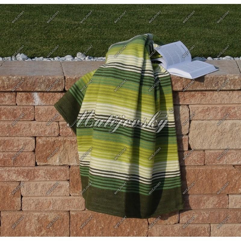 Matějovský bavlněná deka Summer zelená