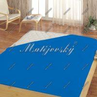 Matějovský prostěradlo Jersey modrá