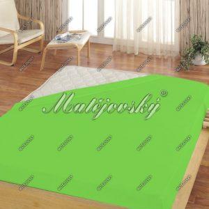 Matějovský prostěradlo froté zelená